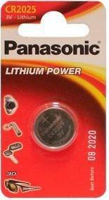 Panasonic  Power Cells CR2025  B1 батарейка