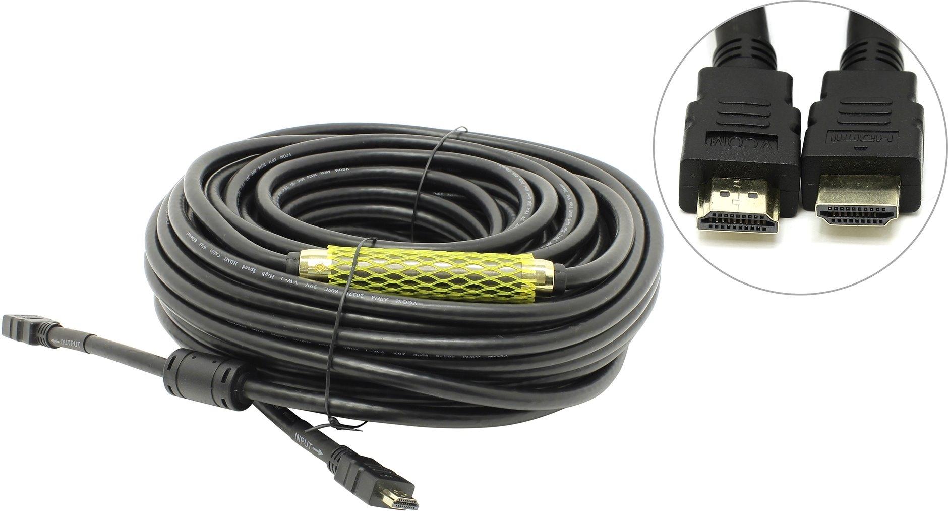 Кабель VCOM [VHD6020D-30MB] HDMI 19M - HDMI 19M