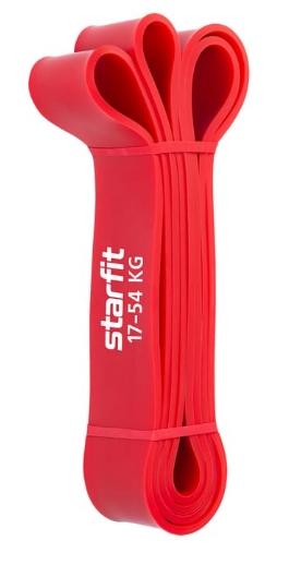 Эспандер многофункциональный STARFIT ES-802 ленточный 17-54 кг,  208 х 4,4 см, красный