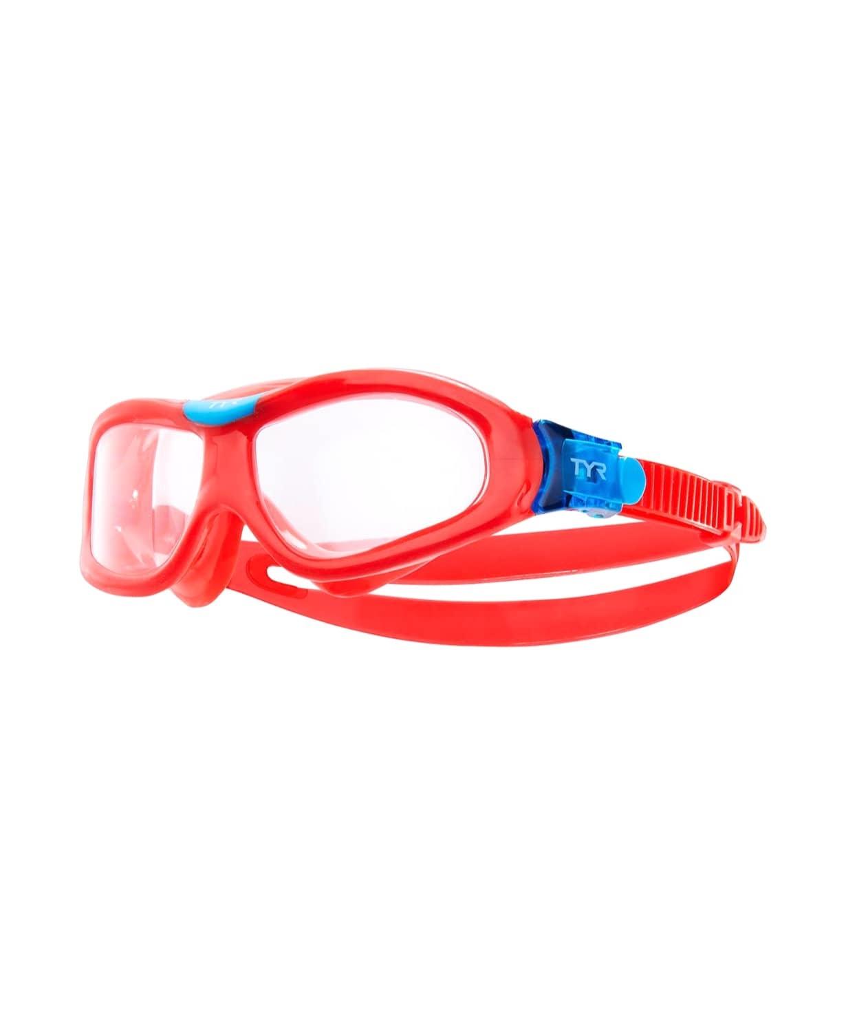 Маска для плавания детская Orion Swim Mask Kids, LGORNK/158, красный