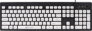 Клавиатура проводная Oklick 580M черный