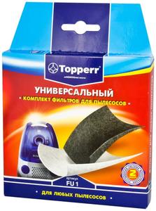 1122 FU1 Topperr Комплект универсальных фильтров для пылесоса