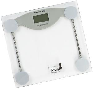 Весы напольные Galaxy GL4810 LINE серый
