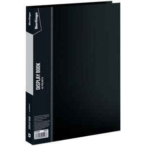 """Папка с 40 вкладышами Berlingo """"Standard"""", 21мм, 600мкм, черная"""
