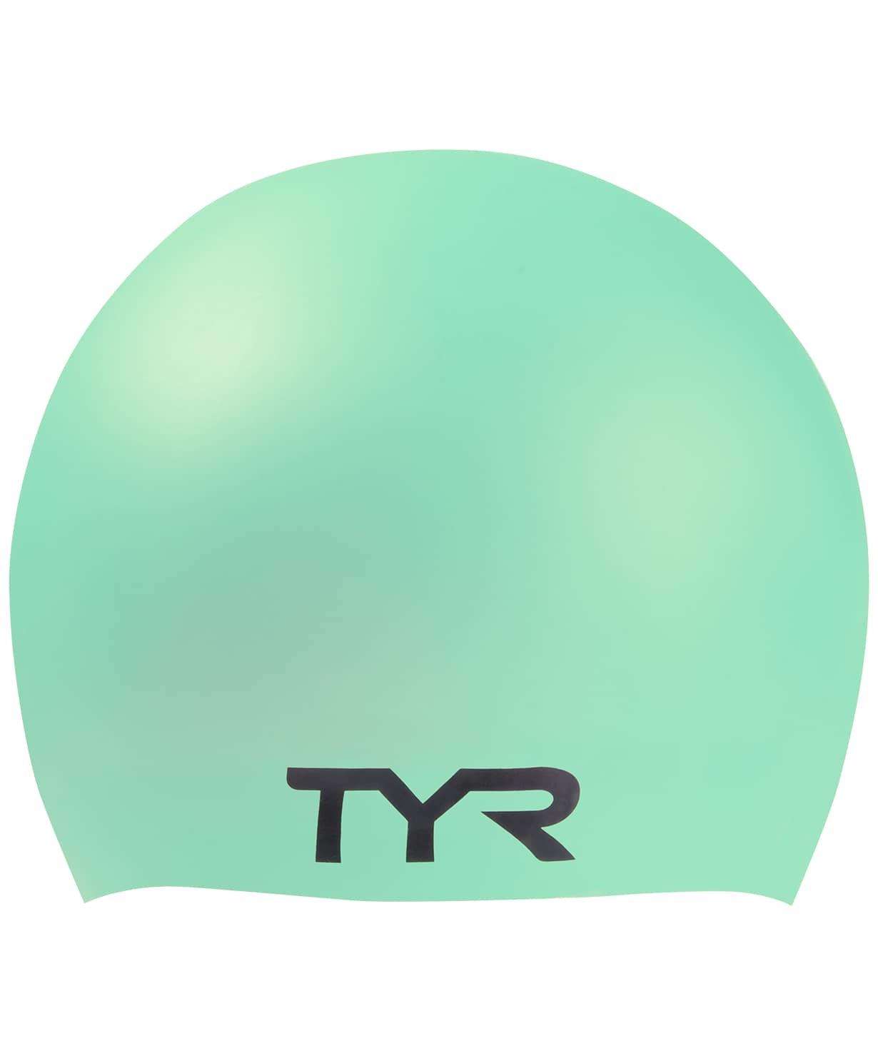 Шапочка для плавания Long Hair Wrinkle-Free Silicone Cap, силикон, LCSL/332, голубой