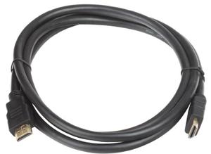 Кабель HDMI 19M/M 1.4V+3D/Ethernet AOpen <ACG511-1M> 1m, позолоченные контакты
