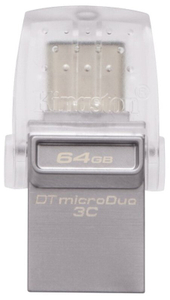 Флэш-накопитель Kingston DataTraveler microDuo 3C 64 Гб