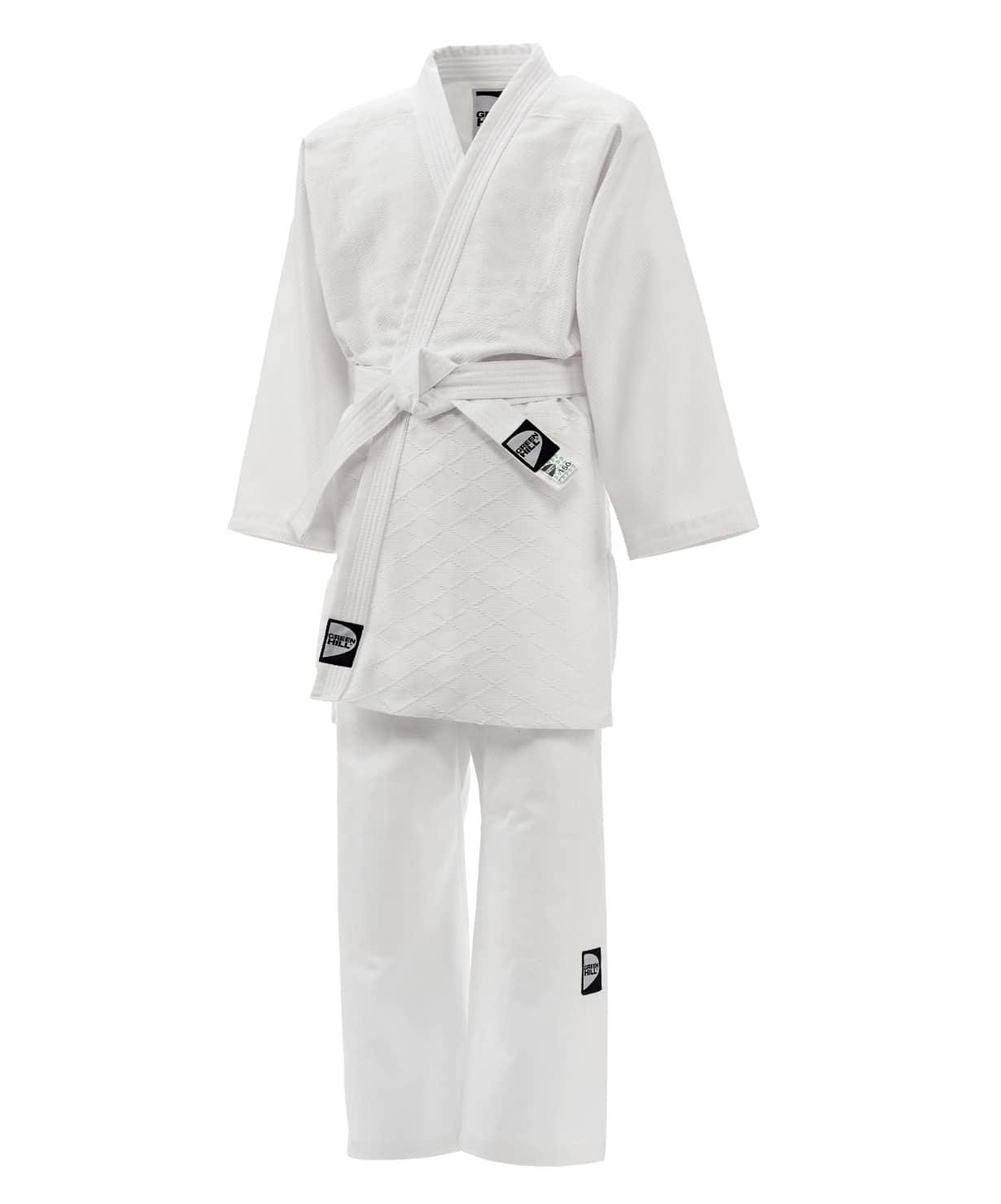 Кимоно для дзюдо JSST-10572, белый, р.000/110