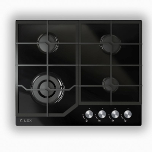 Газовая варочная панель LEX GVG 640-1 BL черный