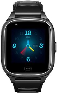 Детские умные часы Jet KID Vision 4G черный