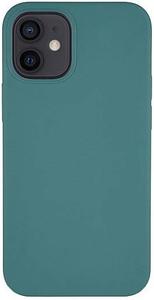 Чехол защитный «vlp» Silicone Сase для iPhone 12 mini, темно-зеленый