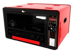 Мини-печь Itimat i-09 36л.  itimat красный (вмятины на корпусе и нет ручки)