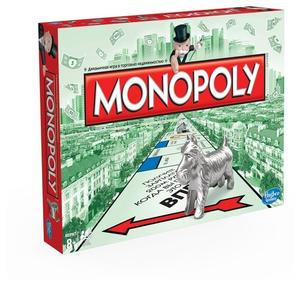 Hasbro Games Настольная игра Монополия. Классическая