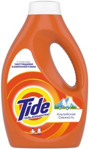Жидкость для стирки Альпийская свежесть 0.975л Tide