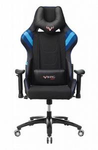 Кресло игровое Бюрократ VIKING 4 AERO синий