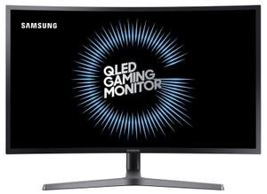 "Монитор Samsung C27HG70QQI 27"" серый"