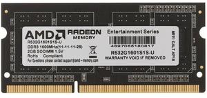 Оперативная память AMD [R532G1601S1S-U] 2 Гб DDR3