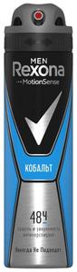 Дезодорант-антиперспирант мужской Кобальт 150 мл Rexona