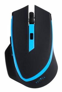 Мышь беспроводная Oklick 630LW голубой