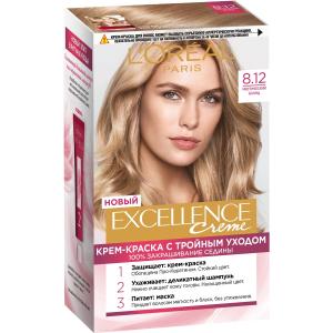 Крем-краска для волос Excellence 8.12 Мистический блонд L'Oreal Paris