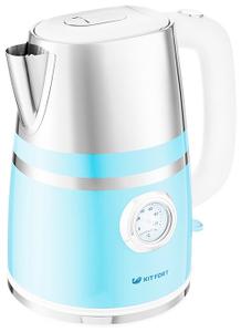 Чайник электрический Kitfort КТ-670-4 голубой