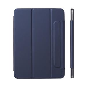 Чехол-подставка Deppa Wallet Onzo Magnet для Apple iPad Air 10.9 (2020) (Темно-синий)