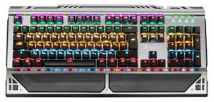 Клавиатура проводная Oklick 980G HUMMER черный