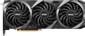 Видеокарта MSI GeForce RTX 3080Ti VENTUS 3X 12G OC LHR 12 Гб