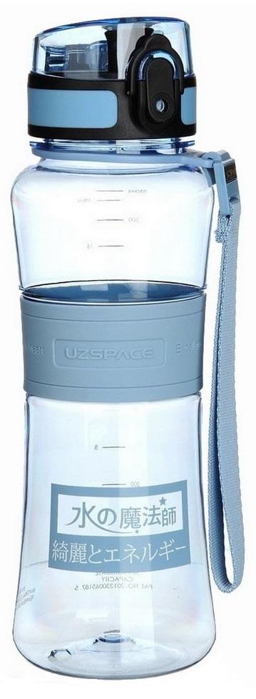 Бутылка для спорта UZSPACE Magic Ion, 550 ml (5026) (Синий)