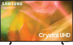 """Телевизор Samsung UE50AU8040UXRU 50"""" (125 см) черный"""