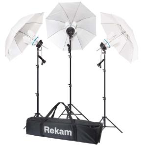 Комплект флуоресцентных осветителей с зонтами Rekam CL4-900-UM Kit