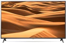 "Телевизор LG 65"" 65UM7300PLB черный/коричневый/Ultra HD/WiFi/Smart TV, разбита матрица"