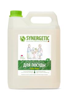 Средство для мытья посуды Алоэ 5л КАНИСТРА Synergetic