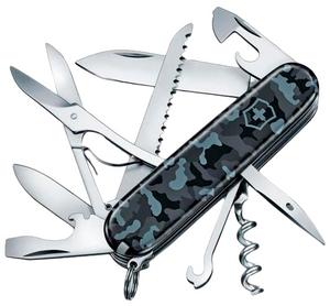 Нож перочинный Victorinox Huntsman (1.3713.942) 91мм 15функций морской камуфляж