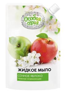 Мыло жидкое Сочное яблоко дой-пак 500мл Особая Серия