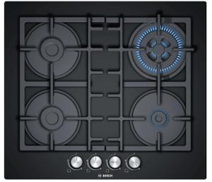 Газовая варочная панель Bosch PNH6B6O90R черный