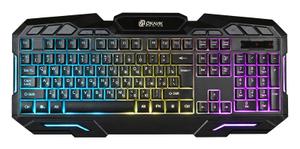 Клавиатура проводная Oklick 700G черный