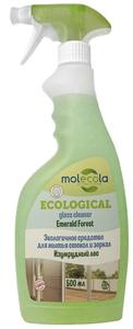 Средство очищающее для стекол и зеркал Изумрудный лес 500мл MOLECOLA