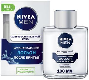 Лосьон после бритья успокаивающий для чувствительной кожи 100мл Nivea