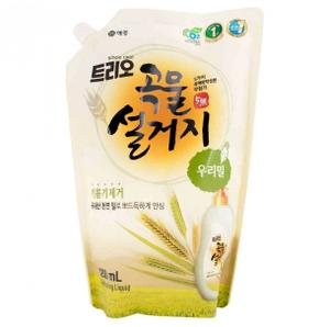 Средство для мытья посуды ТРИО Пшеница 1,2 л (запаска) Kerasys