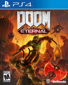 Игра на PS4 DOOM Eternal [PS4, русская версия]