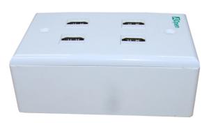 Розетка внутренняя HDMI 4 PORTS <ACA384>, нетоварный вид