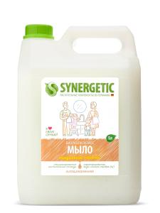 Мыло жидкое Миндальное молочко Канистра 5л Synergetic