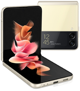 Смартфон Samsung Galaxy Z Flip 3 256 Гб бежевый