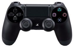 PS4 Контроллер игровой беспроводной черный (Dualshock 4 Cont Anthracite Black)
