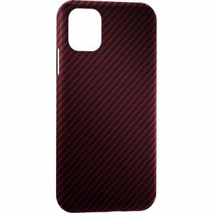 Чехол ANNET MANCINI Сarbon Series для iPhone 12/12 Pro (AM-12PRO-K-RD) Red Matte