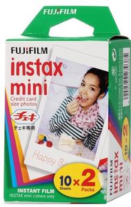 Картридж FUJIFILM Colorfilm Instax MINI Glossy кассета 20 листов для камер Mini (8.6x5.4см)