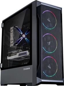 Корпус Zalman Z8 MS без БП черный