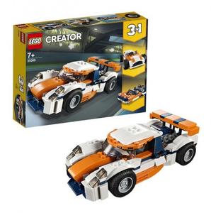 Конструктор lego creator оранжевый гоночный автомобиль 31089_1