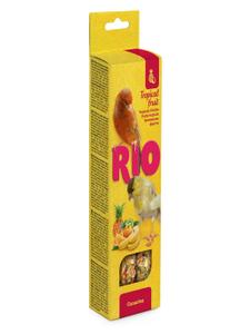 "RIO / Лакомство для канареек ""Палочки"" с тропическими фруктами 80 гр."